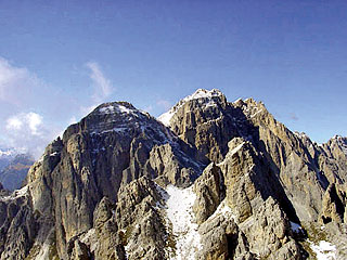 la Croda da Campo dalla cima del M. Aiàrnola