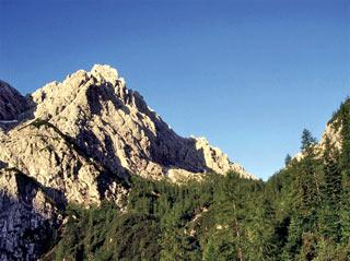 Il Passo Oberenghe, scendendo verso Sappada
