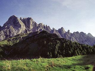 dalla Forc. Lósco, in vista del M. Brentóni (a sin.) e della Cresta di Val Inferno