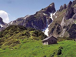 La Casera dei Cavalét e la Forc. Val dei Frassin